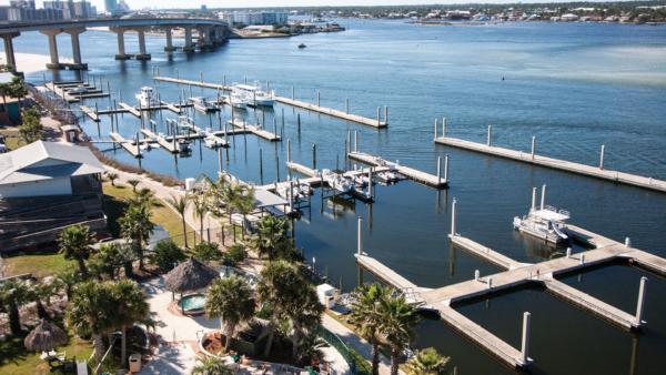 Docks at Caribe Marina