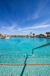 Caribe Resort Pool Entrance
