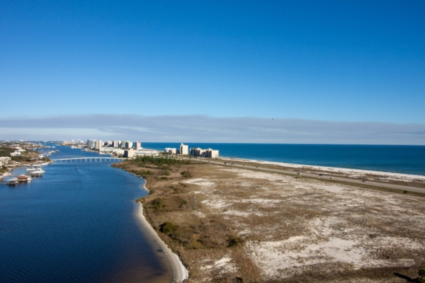 Orange Beach Aerial View