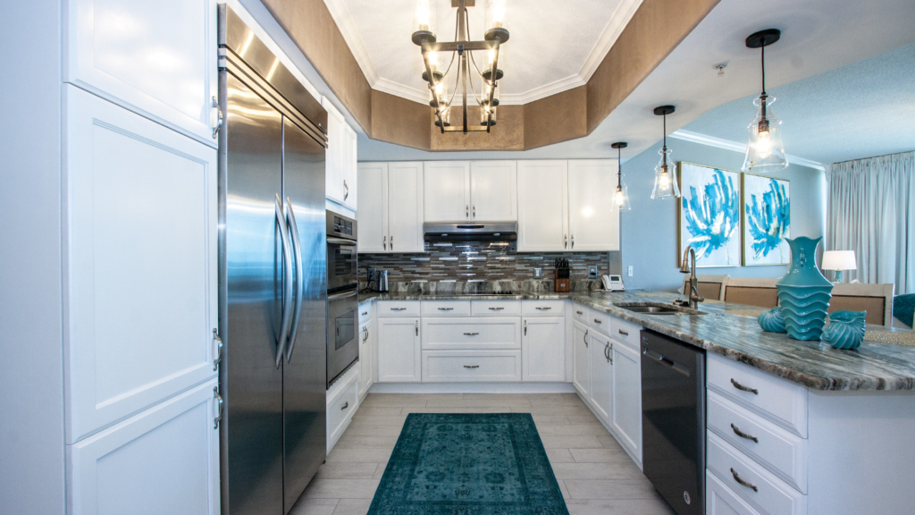 Caribe Resort Unit B1116 Kitchen Decor