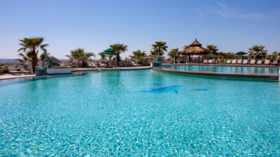 Caribe Resort Tiered Outdoor Pools