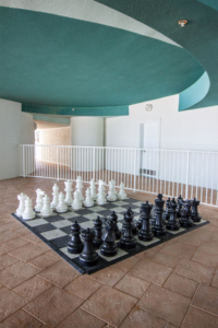 Turquoise Place Big Chess Board